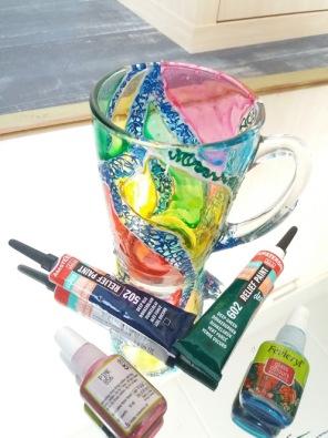 The painted, thus tainted Chai-mug